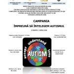 Invitatie la seminarul  SA AJUTAM COPIII CU AUTISM
