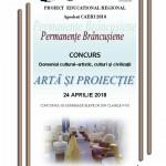 """Concurs Regional ,, Artă şi proiecţie"""""""